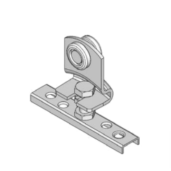 Industriële schuifdeurroller type R10 voor schuifdeursystemen van merk NIKO Helm Hellas