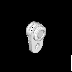 Industriële kunststof gelagerde gordijnrunner type R31 voor NIKO Helm Hellas theaterrails