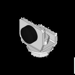 Eindstop type X04 voor railprofielen van NIKO Helm Hellas