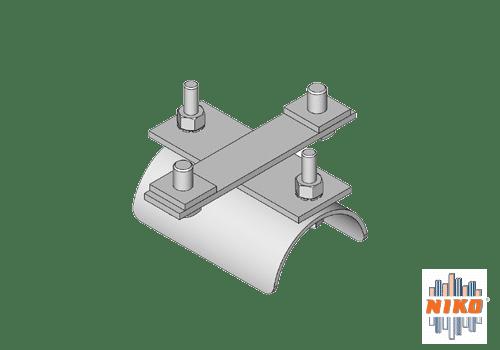 RVS316 rondkabel eindklem type K10 voor vlakkabels van merk NIKO Helm Hellas