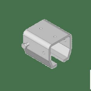 Bevestigingsbeugel voor NIKO Helm Hellas railprofiel type B00
