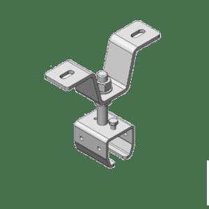 Bevestigingsbeugel type B44 geschikt voor NIKO Helm Hellas railprofielen