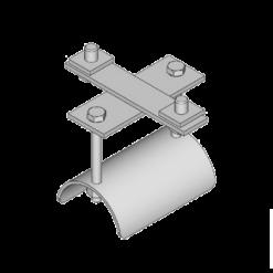 stalen rondkabel eindklem type K13 voor vlakkabels van merk NIKO Helm Hellas