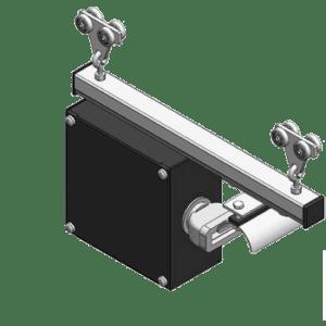 Kabelwagen met stekker type L50 t.b.v. aansturing aangedreven kraanbaansysteem