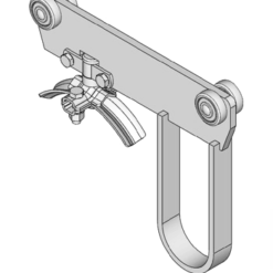 rondkabelwagen met meeneem beugel type M32 voor kabels tot 32mm van merk NIKO Helm Hellas