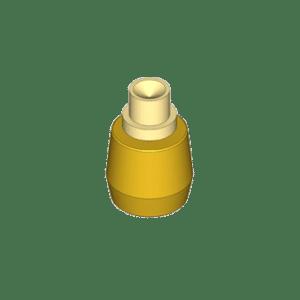 Messing rol t.b.v. geleiding van deuren type M48