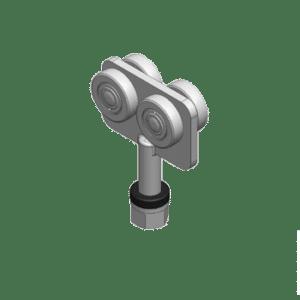 Industriële vouwdeurroller voor vouwdeursystemen van NIKO Helm Hellas