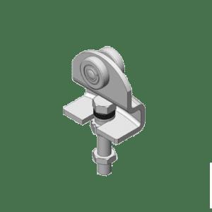 Vouwdeurroller type R85 geschikt voor NIKO Helm Hellas vouwdeursystemen