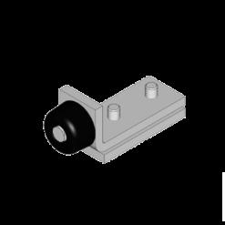 Eindstop type X01 voor NIKO Helm Hellas railprofielen