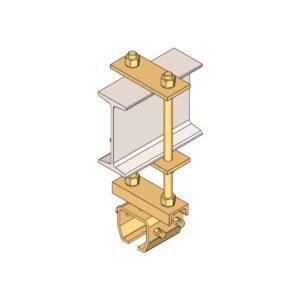 Raildragers t.b.v. staalconstructies