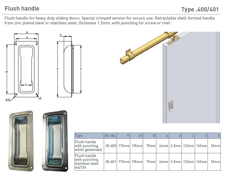 afbeelding met afmetingen en maatvoering van NIKO Helm Hellas product type 400