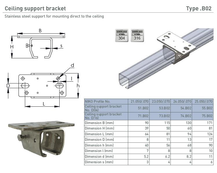 afbeelding met afmetingen en maatvoering van NIKO Helm Hellas product type B02