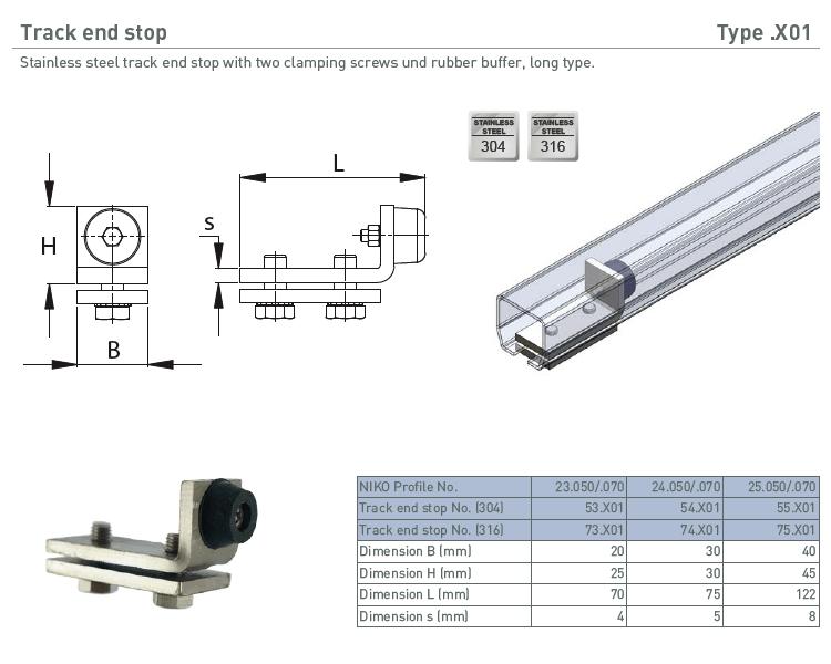 afbeelding met afmetingen en maatvoering van NIKO Helm Hellas product type X01