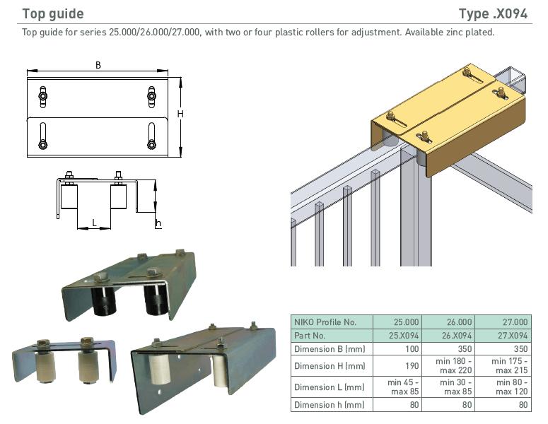 afbeelding met afmetingen en maatvoering van NIKO Helm Hellas product type X094
